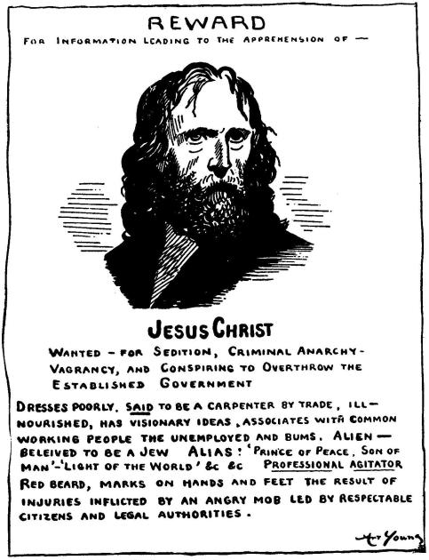 Wanted Jesus 1917