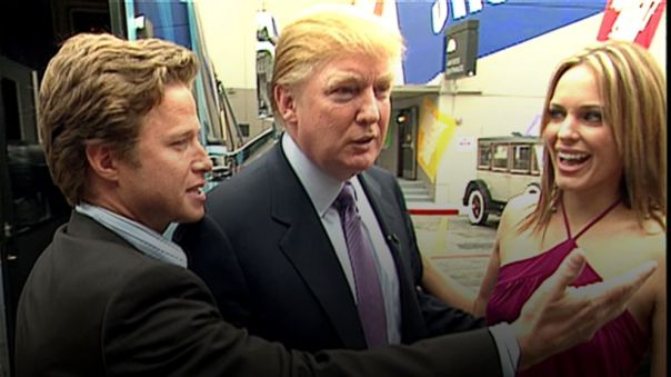 Trump with Billy Bush